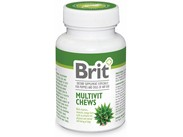 Brit Multivit Chews with Aloe Vera 60 tbl.