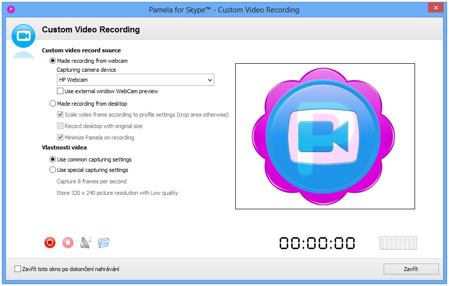 можно делать памела для скайпа как скинуть видео на компьютер требования, которым