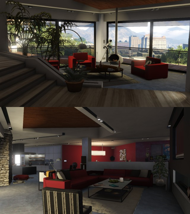 Velk online update v gta 5 magaz n for Designer apartment gta 5