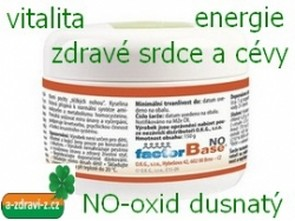 Factor Base NO 150 g - vitalita a energie