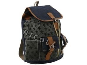41da6303d1e Městský - školní batoh RETRO - hvězdičky - E-shop MAŇÁSEK