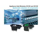 Appliance Inlet Modules X3120 and X3130