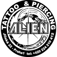 logo Studio Tattoo Alien