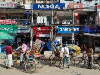 Dhaka je nejrychleji rostoucí mega-město na světě.