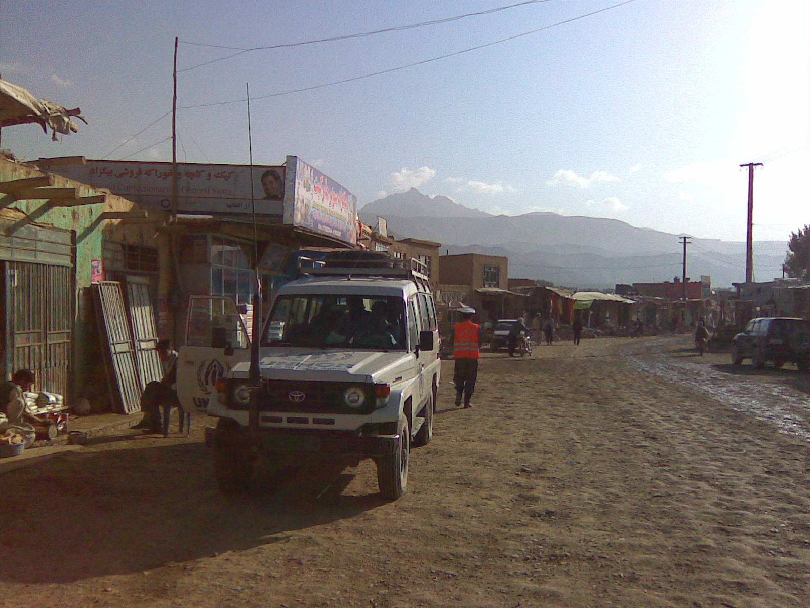 Main street of Bamyan