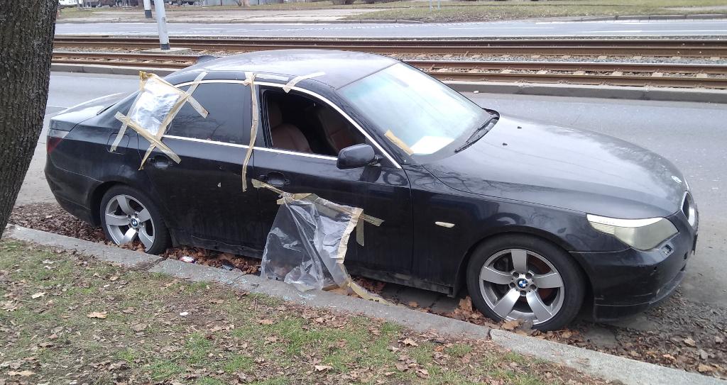"""Dle PČR """"napadené vozidlo"""""""
