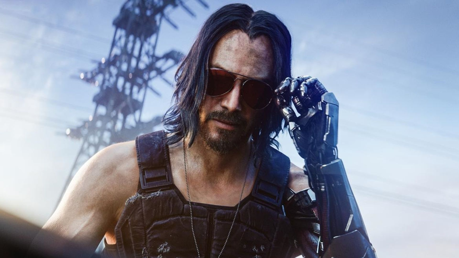 Keanu Reeves as Johnny Silverhand in Cyberpunk 2077