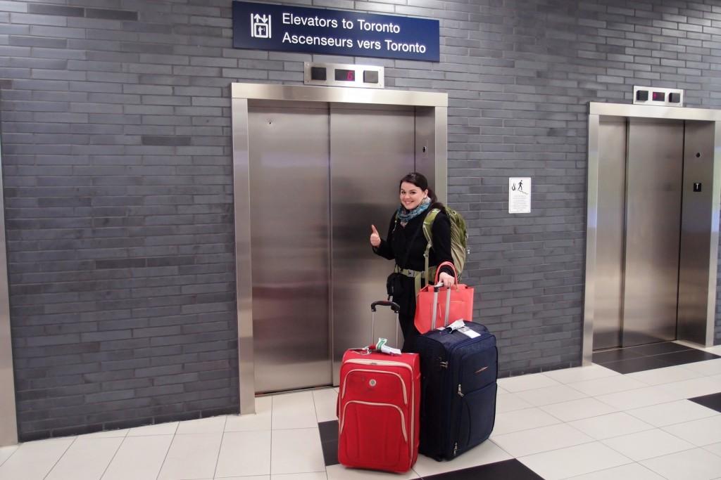 výtah do Toronta
