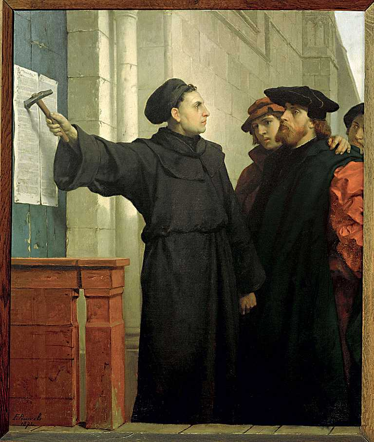 the reformation by martin luther in 1517 Martin luther's posting of the 95 theses to the door of the castle church in wittenberg on 31 october 1517 is one of the most famous events of western peter marshall uses the stories surrounding luther's apocryphal posting of the 95 theses to examine the character of the reformation in.