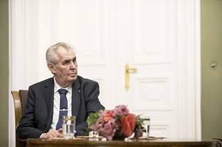 Zeman rozehrál šachovou hru o protiruské sankce