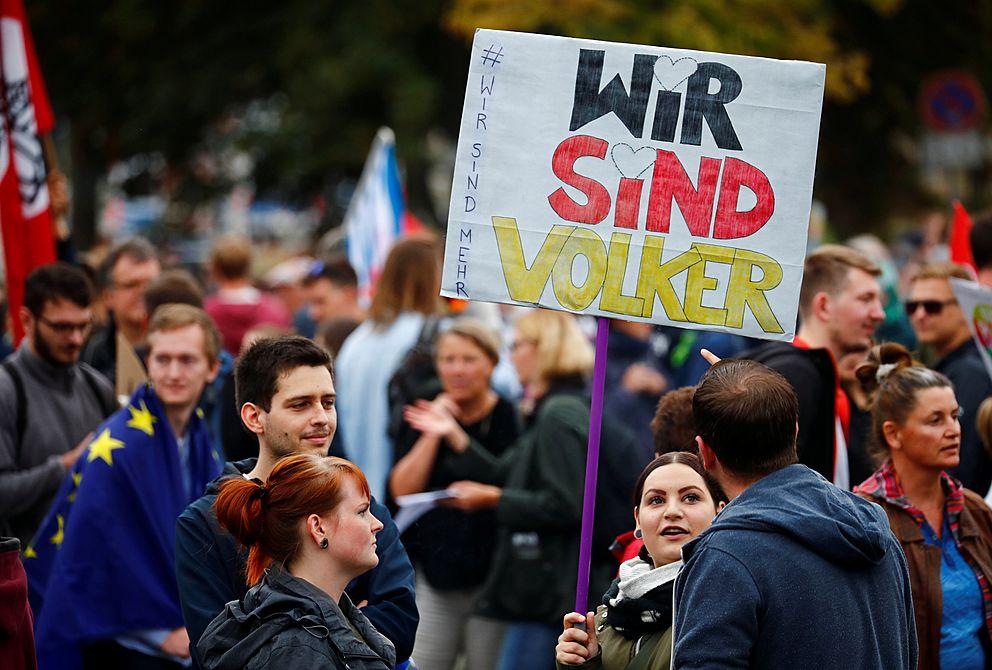 64fedc218 Chemnitz je součástí války mezi liberalismem a nacionalismem