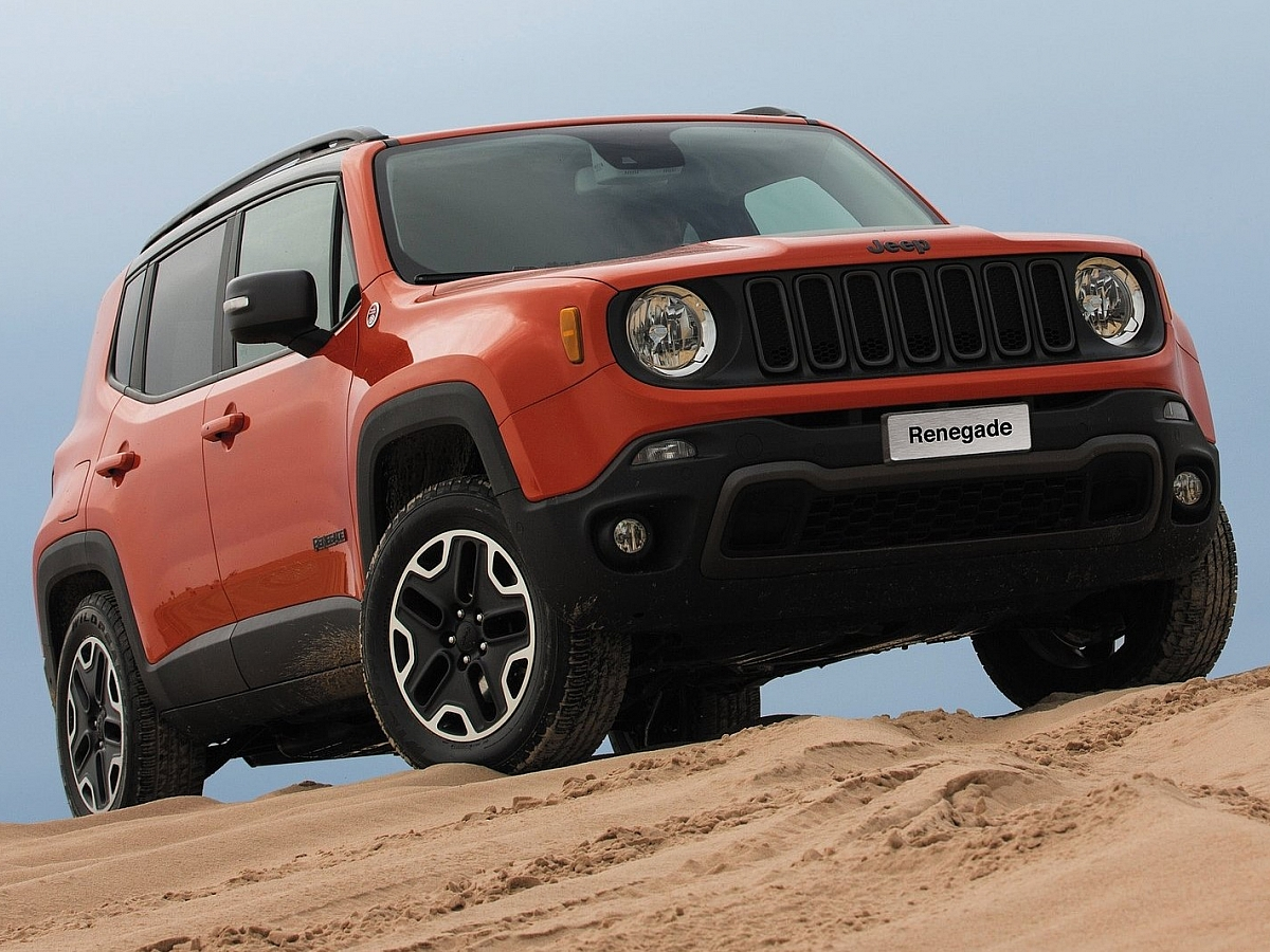 Jeep Renegade baby SUV