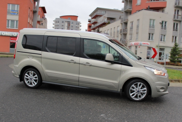 Test Fordu Grand Tourneo Connect 15 Tdci88 Kw Powershift