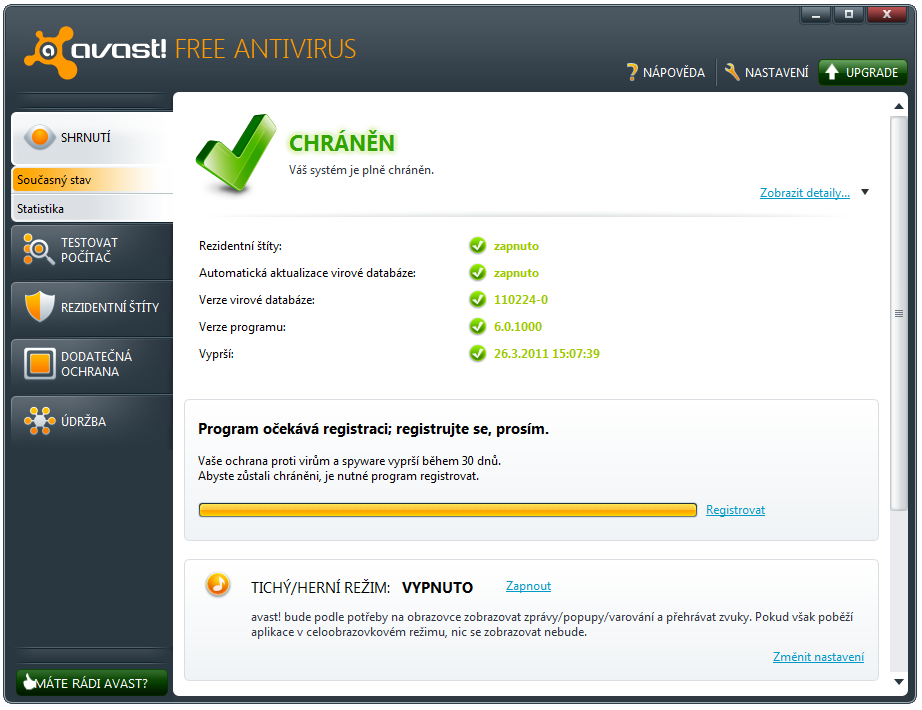 how to do a boot scan with avast free