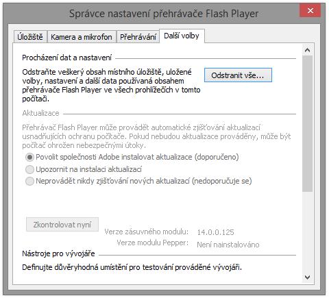 adobe flash player 26.0