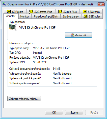 VIA S3G UNICHROME FAMILY DISPLAY PACKAGE WINDOWS 7 X64 DRIVER DOWNLOAD