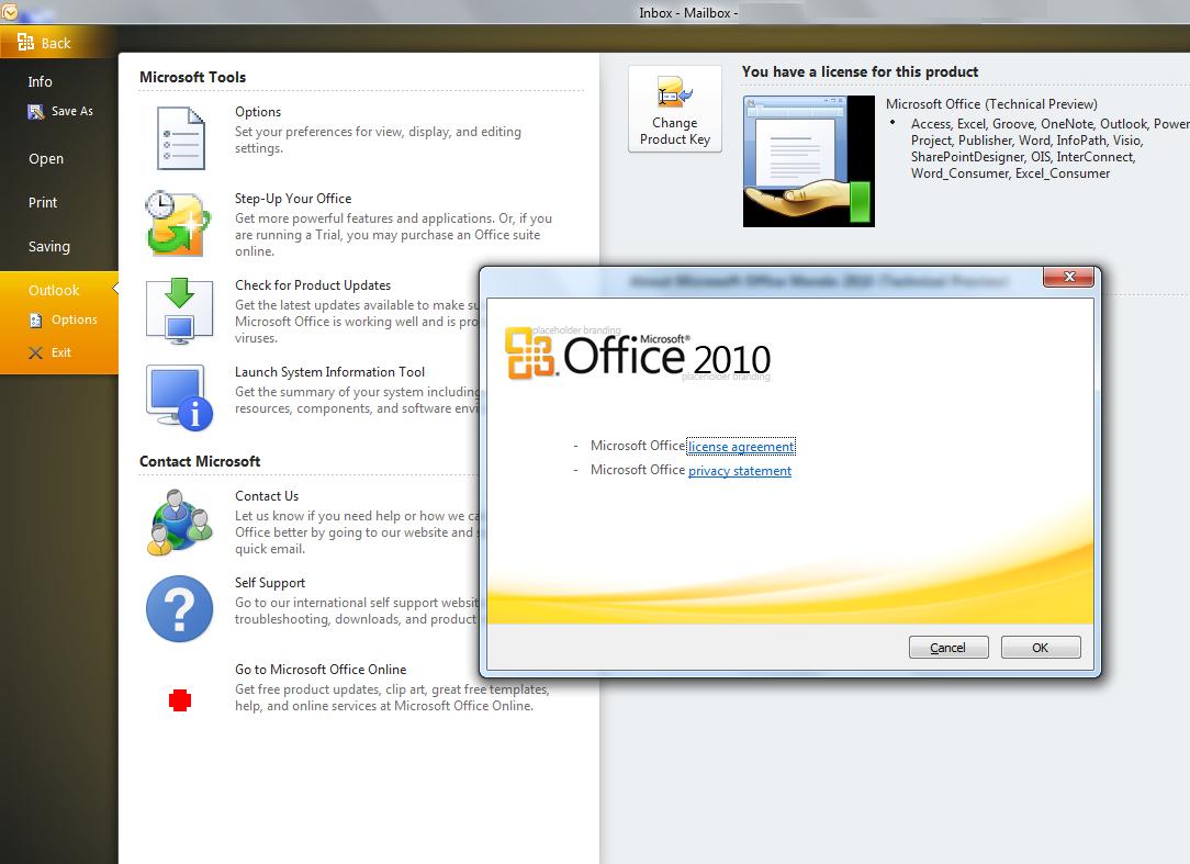 microsoft office 2010 product key zdarma